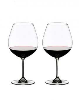 2 Copas Riedel Vinum Pinot Noir
