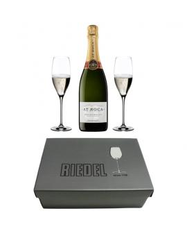 Pack regalo 2 copas RIEDEL + Cava