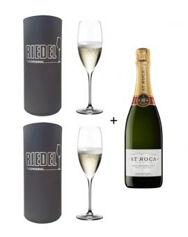 2 copas Riedel Grape Champagne + Cava