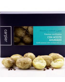 Patatas Confitadas con Aceite Ahumado (300-350 gr.)